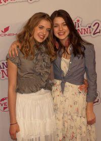 Jana und Sophia Münster auf der Weltpremiere von
