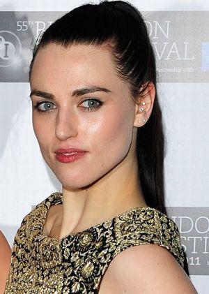 """Katie McGrath auf der """"W.E.""""-Premiere beim BFI London Film Festival"""