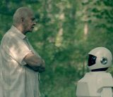 Szene aus &quot;Robot &amp; Frank&quot; mit Frank Langella