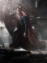 Henry Cavill wird zu Superman: Man of Steel