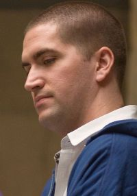 Regisseur Drew Goddard am Set von &quot;The Cabin in the Woods&quot;