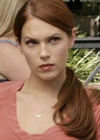 "Amanda Righetti in ""The Mentalist"""