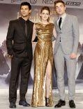 """Taylor Lautner, Kristen Stewart, Robert Pattinson auf der Berliner Premiere zu """"Breaking Dawn - Biss zum Ende der Nacht (Teil 2)"""""""