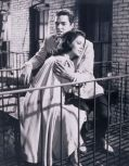 "Richard Beymer verlibt in Natalie Wood in ""West Side Story"""