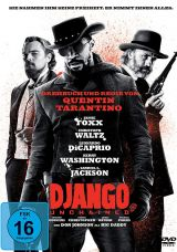 DVD Cover zu Django Unchained
