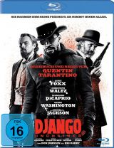 Blu-ray Cover zu Django Unchained
