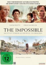 DVD Cover zu The Impossible