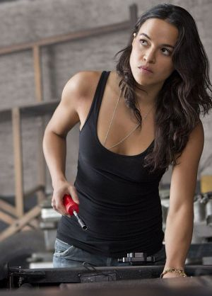 "Michelle Rodriguez in ""Fast & Furious 6"""