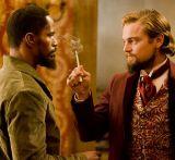"Jamie Foxx und Leonardo DiCaprio in ""Django Unchained"""