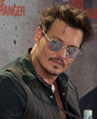 Johnny Depp auf der