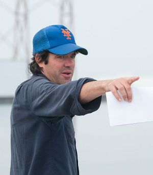 "J.C. Chandor auf dem Set von ""All Is Lost"""