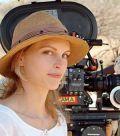 Nina Hoss am Set von Die weiße Massai