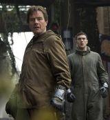 """Bryan Cranston und Aarin Taylor-Johnson auf den Spuren von """"Godzilla 3D"""""""