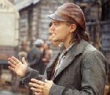 "Leonardo am Dreh von ""Gangs of New York"""