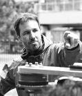 """Denis Villeneuve auf dem Set von """"Enemy"""""""