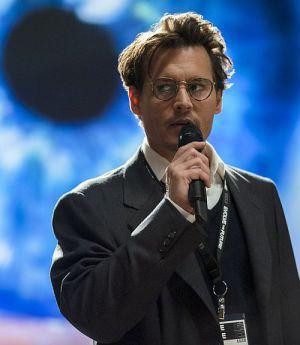 """Johnny Depp noch in Fleisch und Blut... (""""Transcendence"""")"""