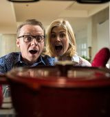 """Simon Pegg und Rosamund Pike in """"Hectors Reise oder Die Suche nach dem Glück"""""""