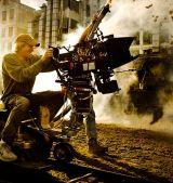"""Michael Bay am Set von """"Transformers - Ära des Untergangs 3D"""""""