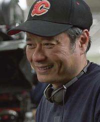 Ang Lee am Set von Brokeback Mountain