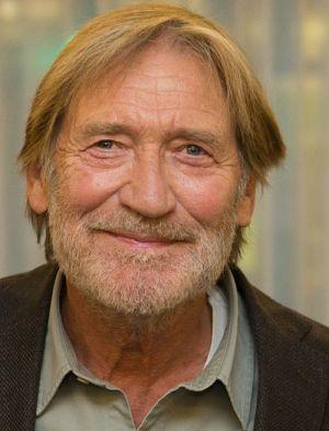 """Matthias Habich am Set von """"Die abhandene Welt"""""""