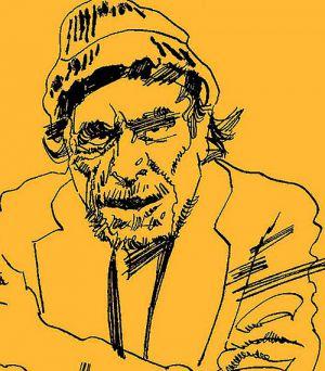 Zeichnug von Graziano Origa
