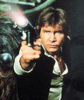 Harrison Ford als Han Solo (Star Wars Episode 4 - Eine neue Hoffnung (AKA Krieg der Sterne))