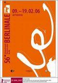 Hauptplakat der 56. Internationalen Filmfestspiele Berlin