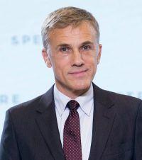 Christoph Waltz auf der Pressekonferenz zu