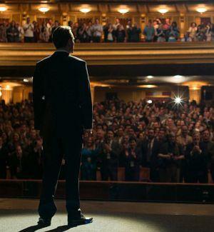 Steve Jobs (Michael Fassbender) repräsentiert Apple