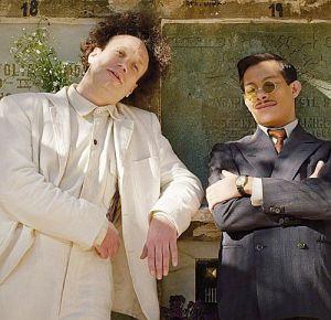 Eisenstein findet in Guanajuato Liebe und Tod (Elmer Bäck, Luis Alberti)
