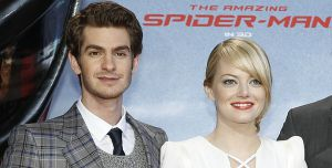 """Andrew Garfield und Emma Stone bei der Premiere von """"The Amazing Spider-Man"""""""
