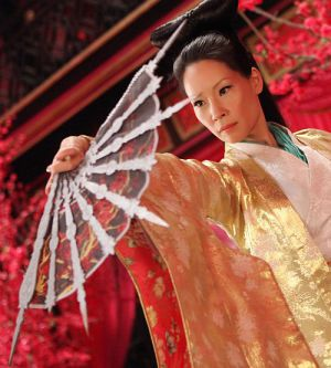 """Lucy Liu in """"The Man with the Iron Fists"""""""
