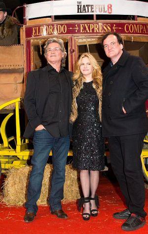 """Kurt Russell, Jennifere Jason Leigh und Quentin Tarantino auf der """"Hateful 8""""-Premiere"""