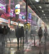 Concept art from the Untitled Blade Runner Sequel (2017)