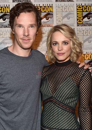 """Benedict Cumberbatch mit Rachel McAdam präsentieren auf der San Diego Comic-Con International 2016 """"Doctor Strange"""""""