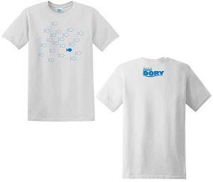 """T-Shirt mit """"Findet Dorie""""-Motiv"""