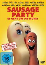 DVD Cover zu Sausage Party - Es geht um die Wurst