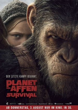 Planet der Affen: Survival 3D (War for the Planet of the Apes, 2017)