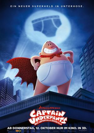 Captain Underpants - Der supertolle erste Film 3D (Captain Underpants: The First Epic Movie, 2017)