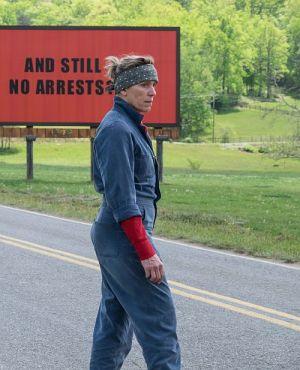 "Frances McDormand in ""Three Billboards Outside Ebbing, Missouri"" (2017)"