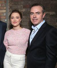 Saoirse Ronan und John Crowley bei der Premiere von