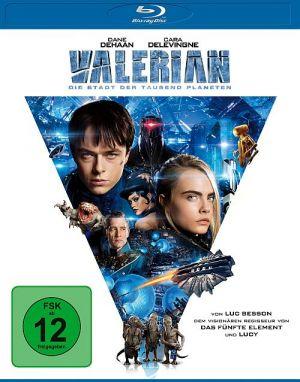 Valerian - Die Stadt und die tausend Planeten (3D Blu-ray + 2D Blu-ray)