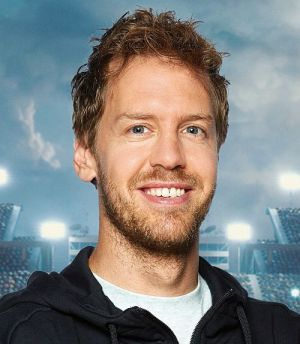 Sebastian Vettel (Cars 3 - Evolution 3D)