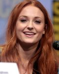Sophie Turner im Sommer 2017 auf der Comic-Con International in San Diego, Kalifornien