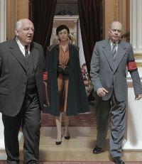 Simon Russell Beale, Olga Kurylenko & Steve Buscemi in
