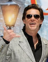 Jim Carrey in Cannes 2009