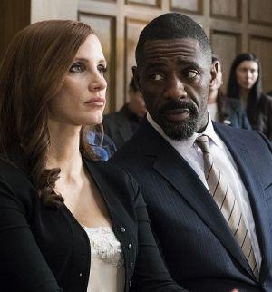 """Jessica Chastain & Idris Elba in """"Molly's Game - Alles auf eine Karte"""" (2017)"""
