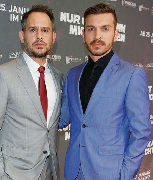 """Moritz Bleibtreu und Edin Hasanovic feiern die Premiere von """"Nur Gott kann mich richten"""""""