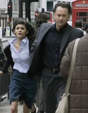 Audrey Tautou und Tom Hanks in The Da Vinci Code-Sakrileg