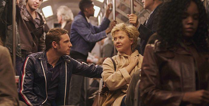 "Jamie Bell & Annette Bening in ""Film Stars don't die in Liverpool"" (2017)"